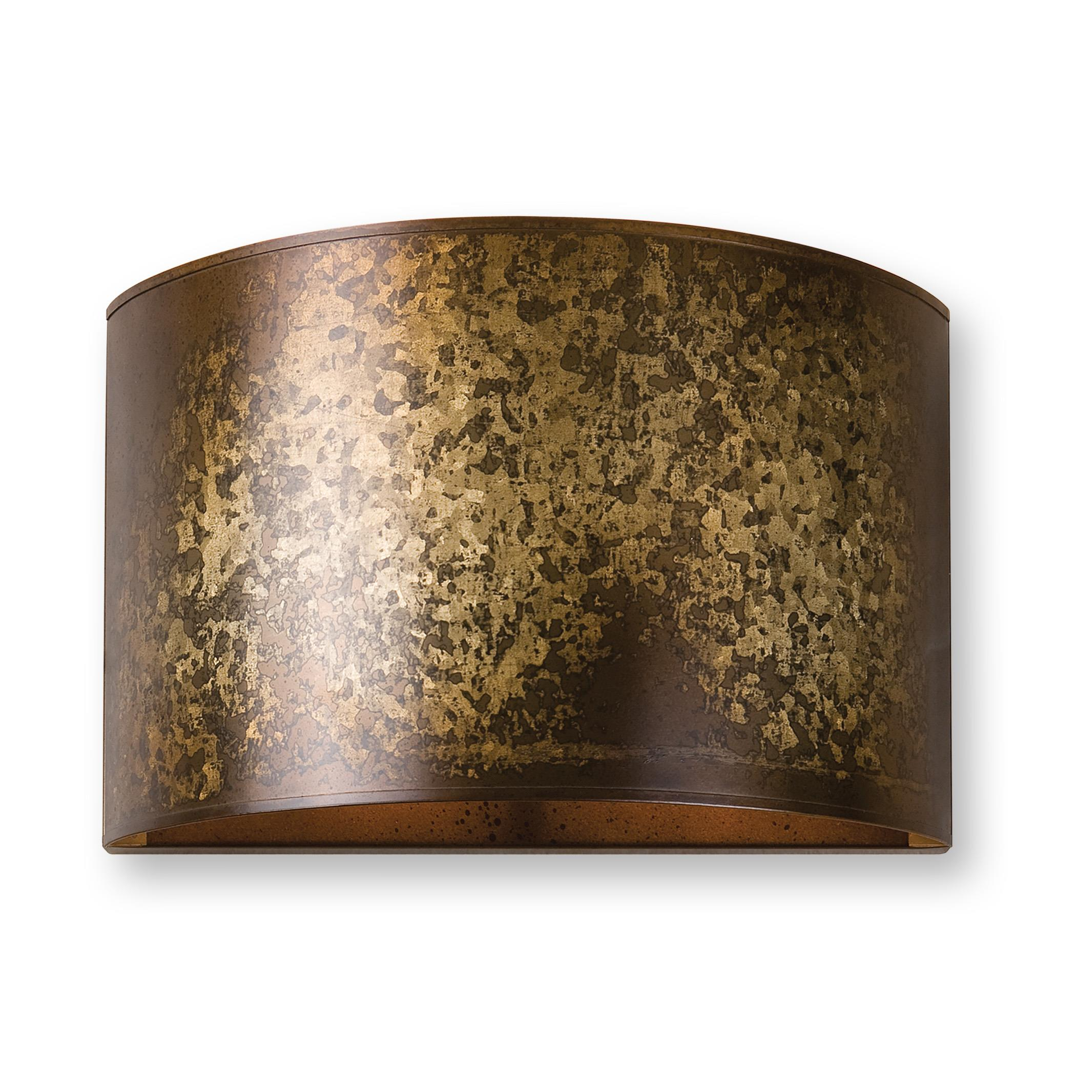 Uttermost Lighting Fixtures Wolcott 1 Light Golden Sconce - Item Number: 22500