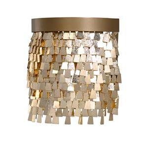 Uttermost Lighting Fixtures Tillie 1 Light Gold Sconce