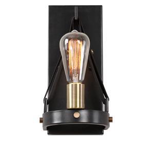 Uttermost Lighting Fixtures Marlow 1 Light Dark Bronze Sconce