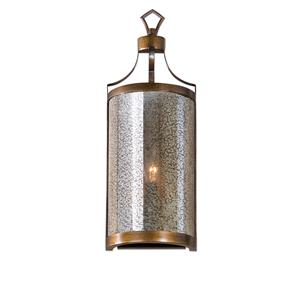 Uttermost Lighting Fixtures Croydon 1 Light Mercury Glass Sconce