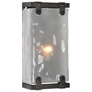 Uttermost Lighting Fixtures Brattleboro Industrial 1 Light Sconce