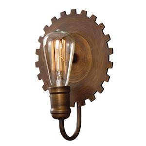 Uttermost Lighting Fixtures Antrim 1 Light Bronze Sconce