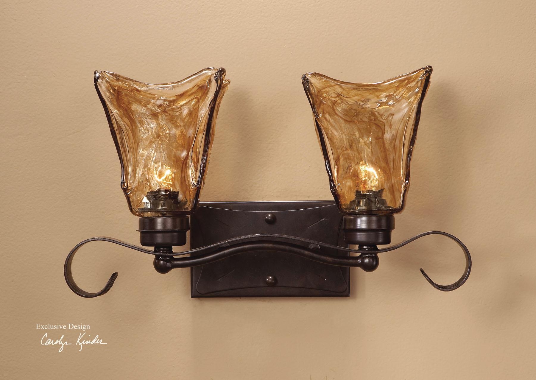 Uttermost Lighting Fixtures Vetraio 2-Light Vanity Strip - Item Number: 22800