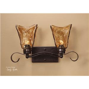 Uttermost Lighting Fixtures Vetraio 2-Light Vanity Strip