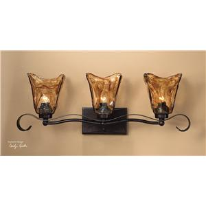 Uttermost Lighting Fixtures Vetraio 3-Light Vantity Strip