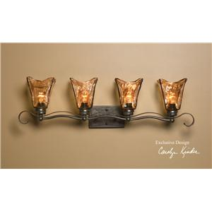 Uttermost Lighting Fixtures Vetraio 4 Light Vanity Strip