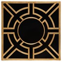 Uttermost Alternative Wall Decor Abramo Gold Wall Art - Item Number: 04024