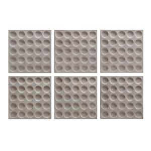 Uttermost Alternative Wall Decor Rogero Squares Wall Art, S/6