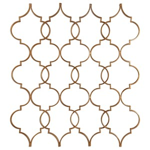 Uttermost Alternative Wall Decor Zakaria Gold Wall Art