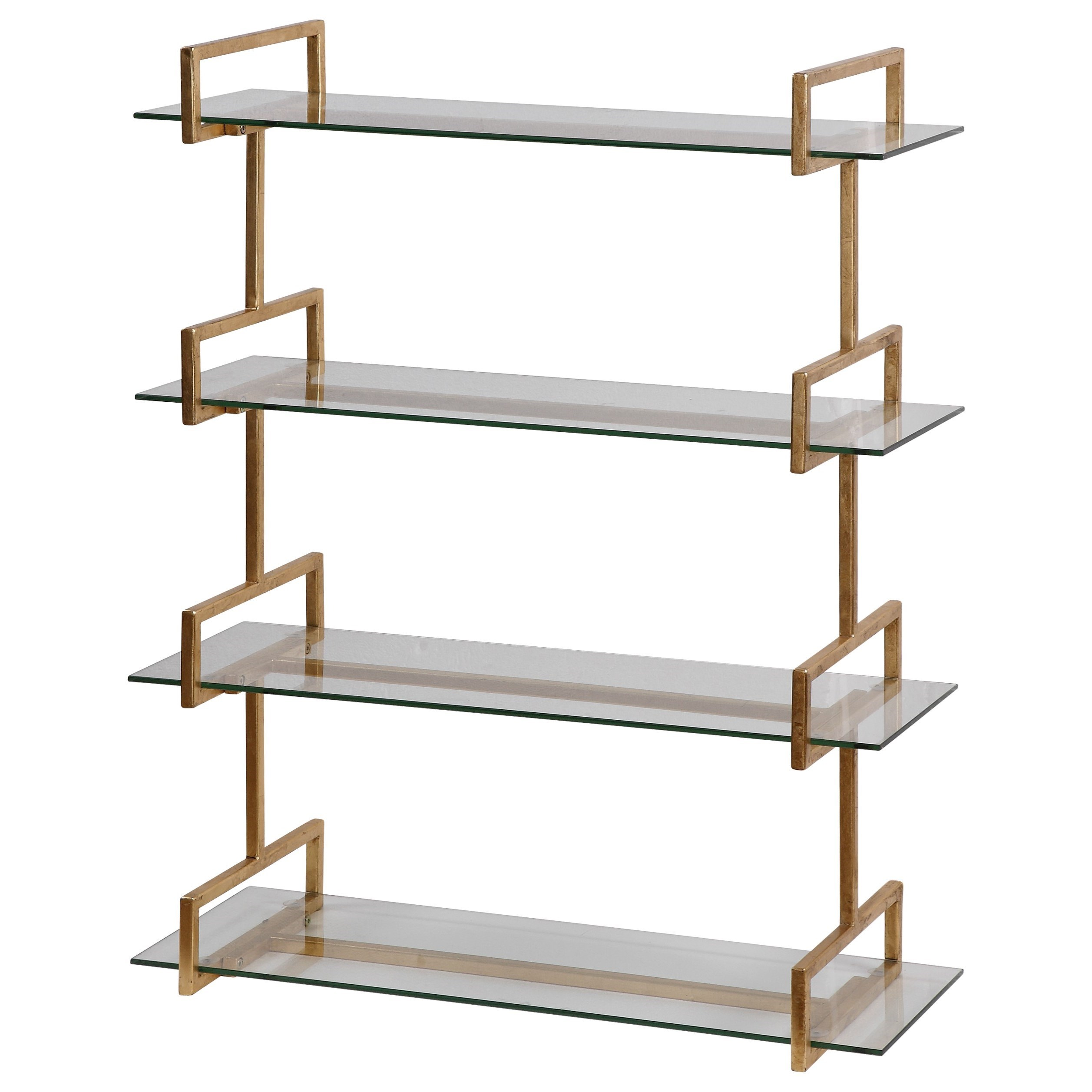 Uttermost Alternative Wall Decor Auley Gold Wall Shelf - Item Number: 04038