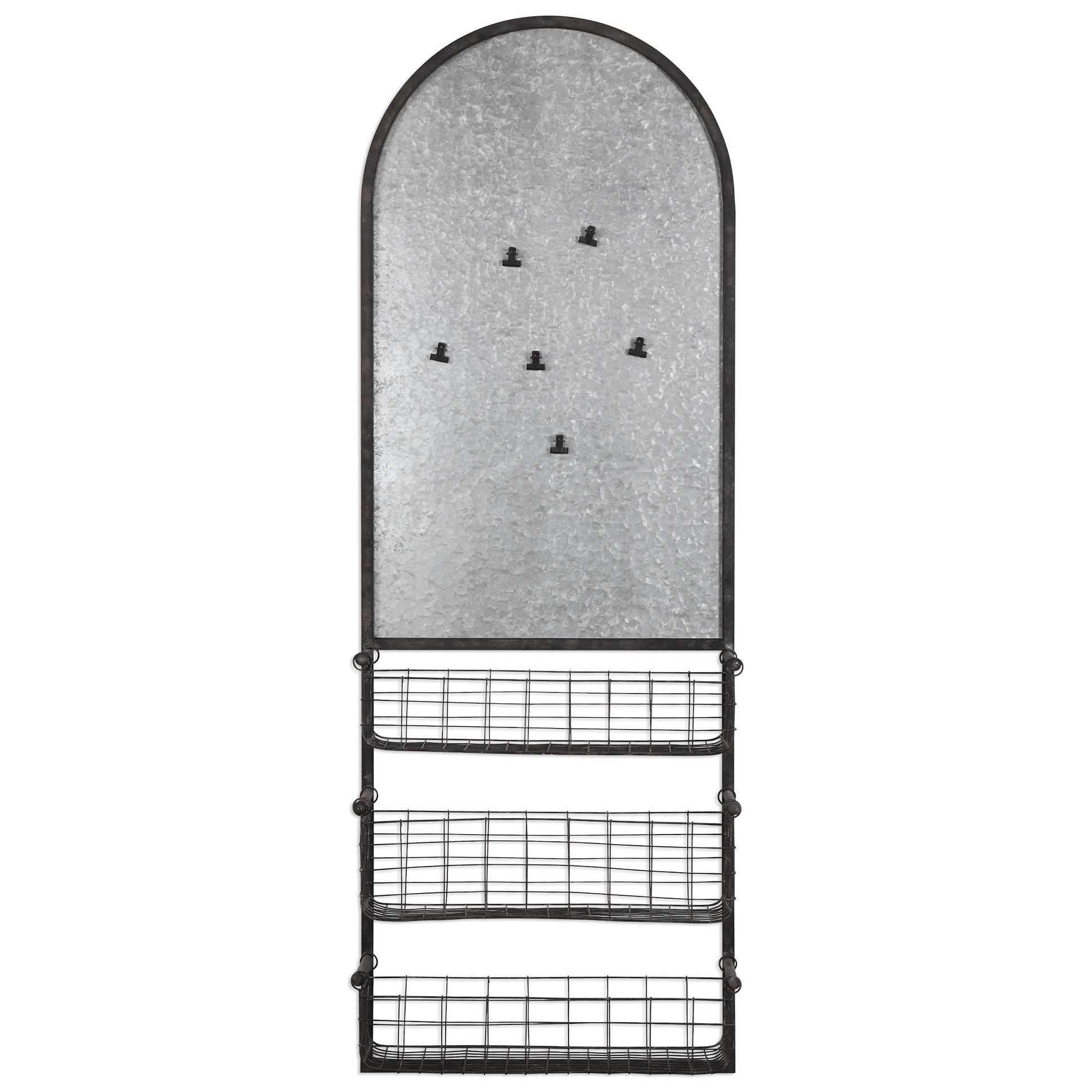 Uttermost Alternative Wall Decor Minetta Organizer - Item Number: 04046