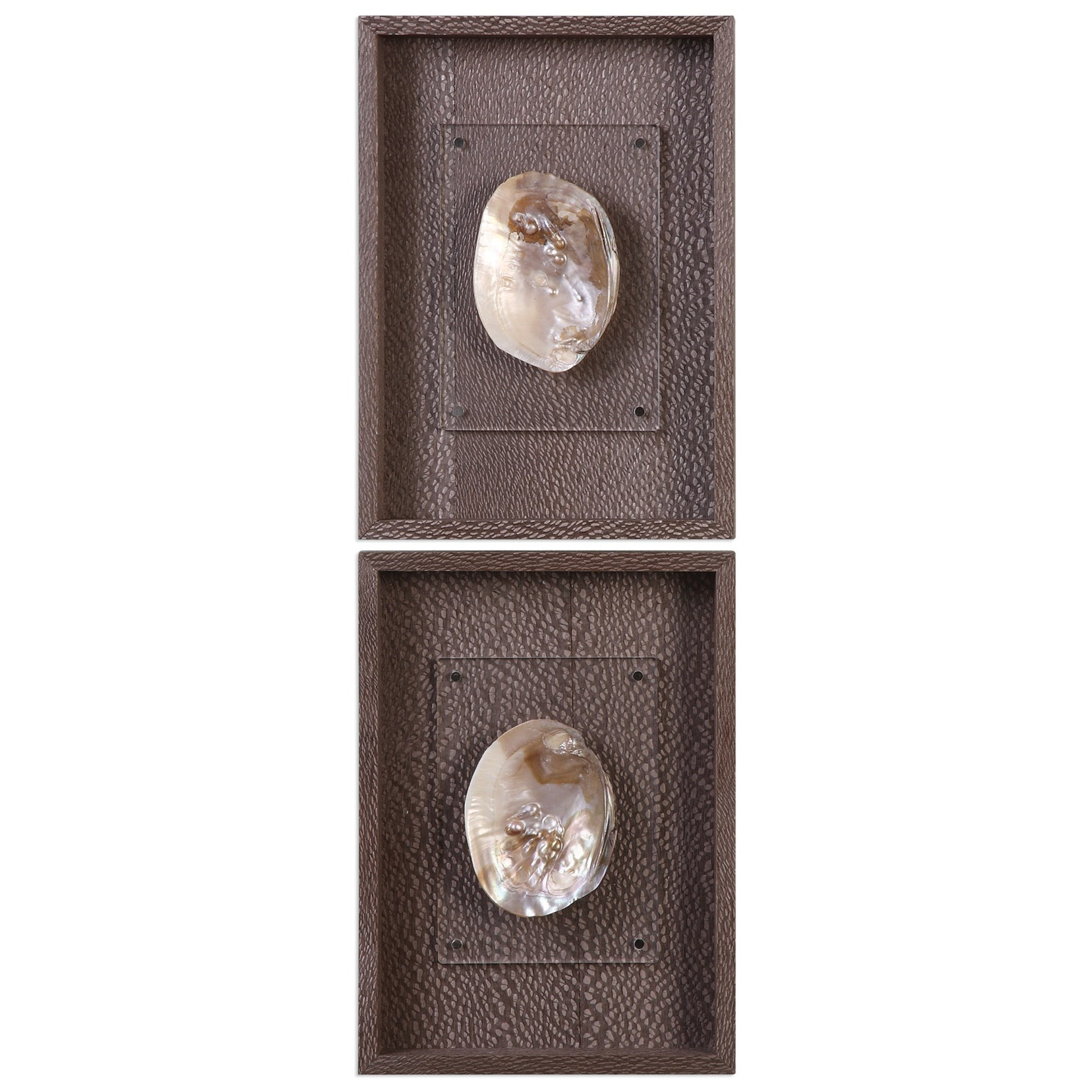 Uttermost Alternative Wall Decor Aquarius (Set of 2) - Item Number: 04047