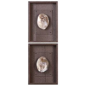 Uttermost Alternative Wall Decor Aquarius (Set of 2)