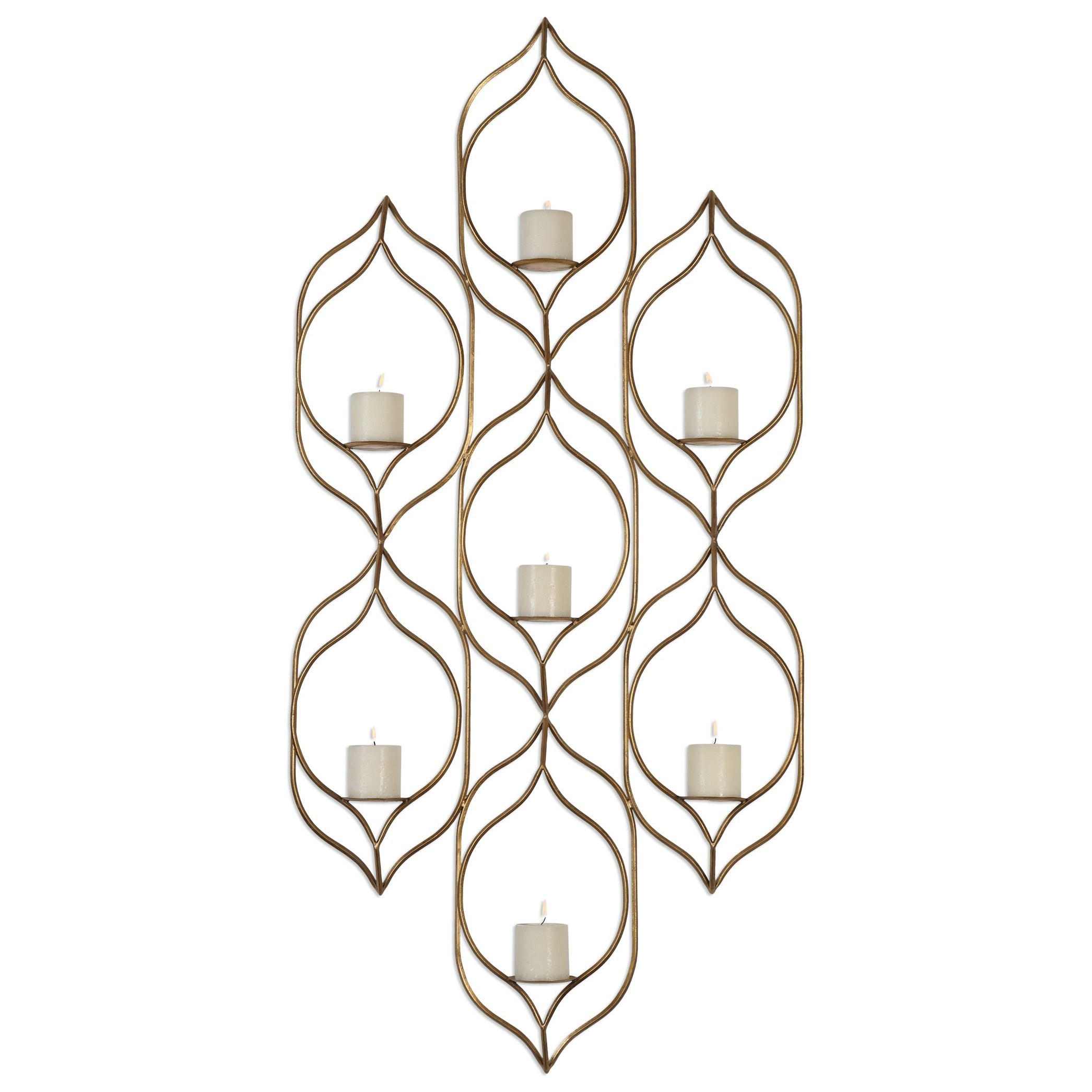 Uttermost Alternative Wall Decor Rovena Wall Sconce - Item Number: 04049