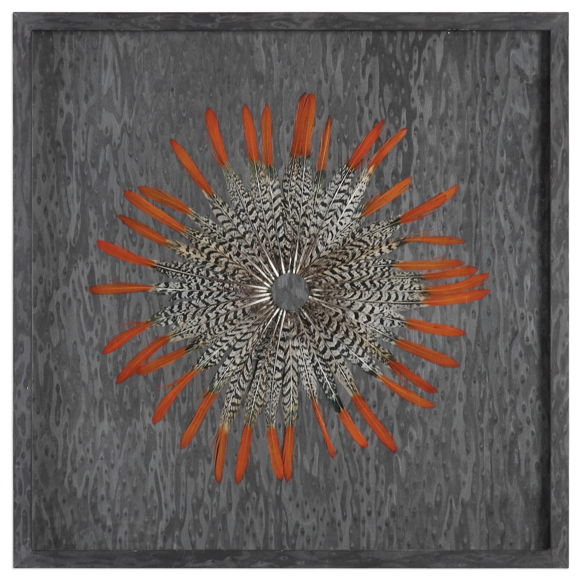 Uttermost Alternative Wall Decor Kumara Shadow Box - Item Number: 04056