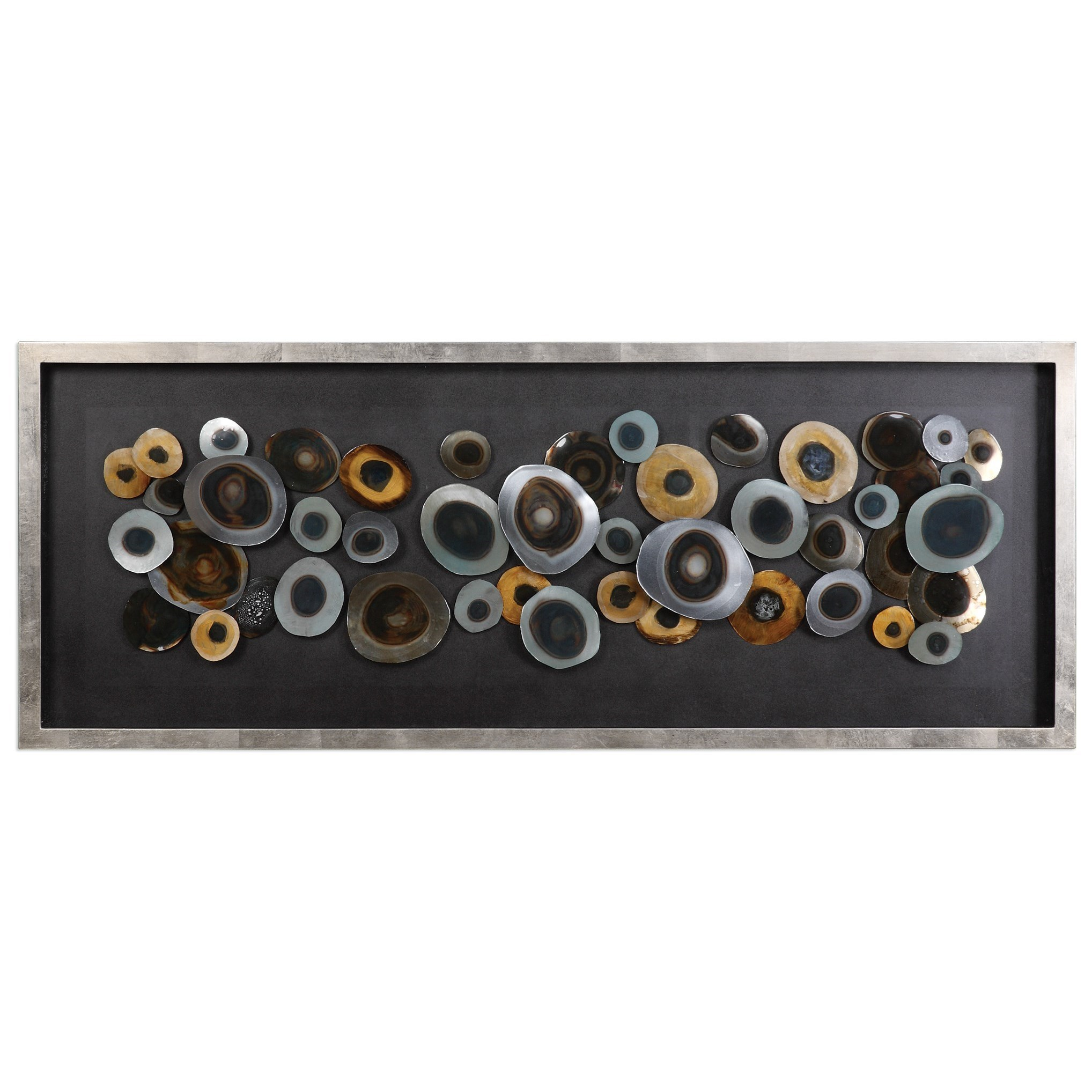 Uttermost Alternative Wall Decor Discs Shadow Box - Item Number: 04058