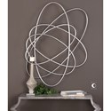 Uttermost Alternative Wall Decor  Orbital Silver Wall Art