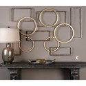 Uttermost Alternative Wall Decor  Elias Bronze And Gold Wall Art