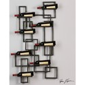 Uttermost Alternative Wall Decor Scheldt Wall Wine Rack