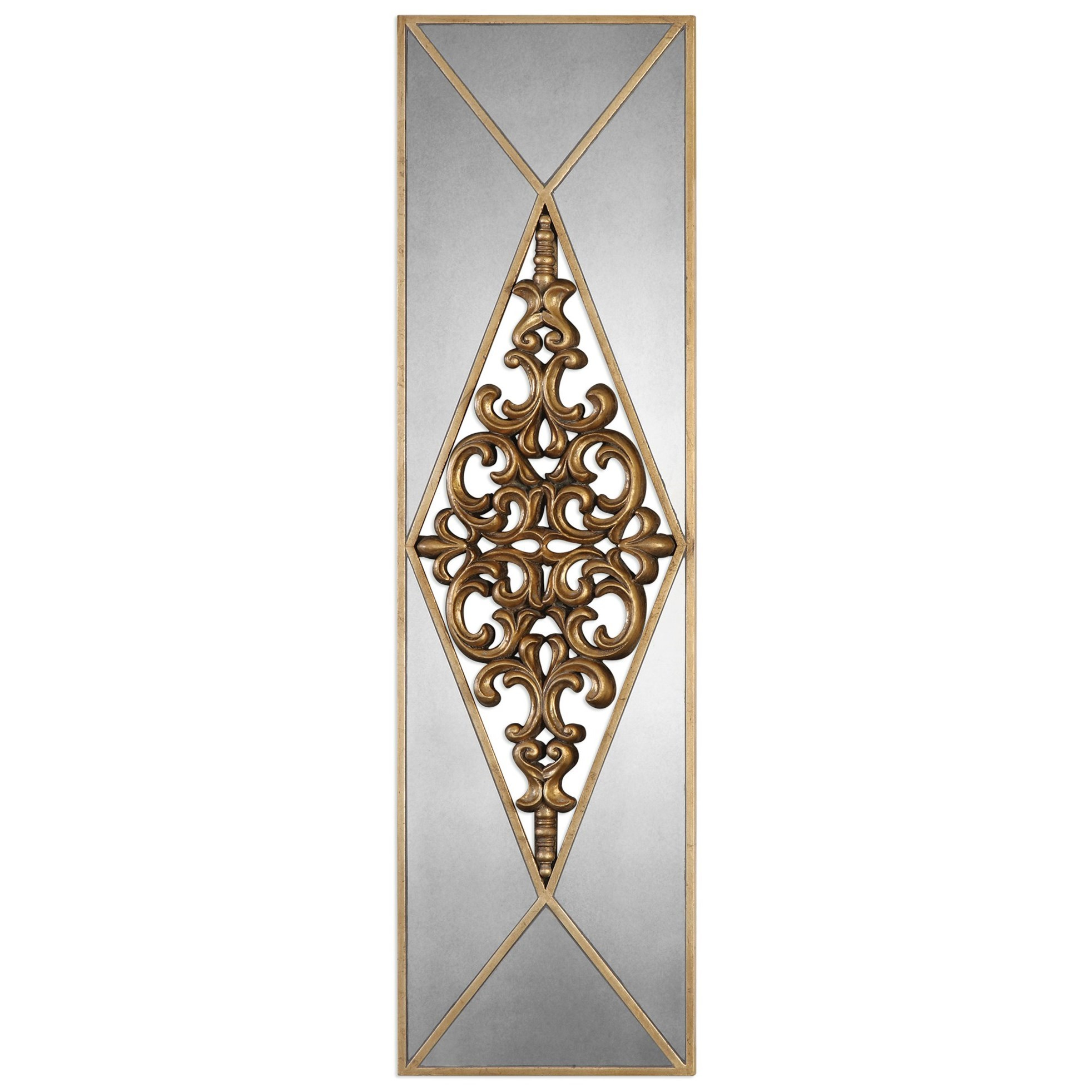 Uttermost Alternative Wall Decor  Serrano Mirrored Wall Art - Item Number: 04065
