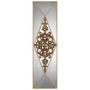 Uttermost Alternative Wall Decor  Serrano Mirrored Wall Art