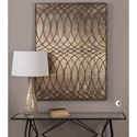 Uttermost Alternative Wall Decor  Kanza Antique Bronze Wall Panel