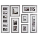 Uttermost Alternative Wall Decor  Seine Gray Oak Photo Collage (Set of 7) - Item Number: 04082