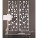 Uttermost Alternative Wall Decor  Tauria Modern Mirrored Wall Art
