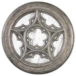 Uttermost Alternative Wall Decor Marwin Round Window Mirror