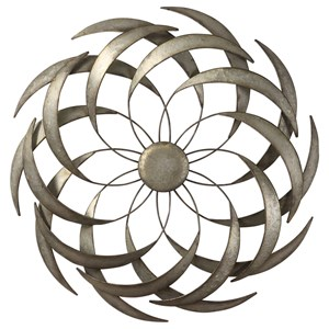 Barnes Spiraled Iron Wall Art