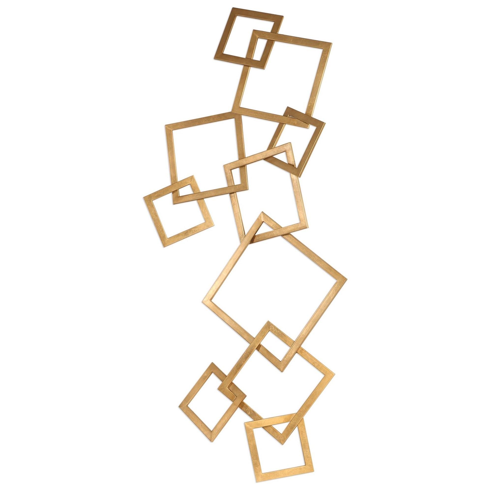 Vida Modern Gold Wall Art