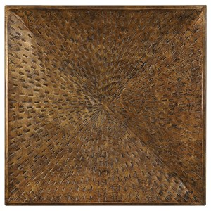 Blaise Antiqued Bronze Wall Art