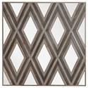 Uttermost Alternative Wall Decor Tahira Geometric Square Wall Mirror - Item Number: 04181