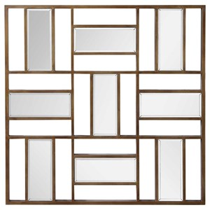 Nadina Mirrored Wall Decor