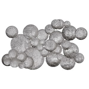 Cassava Hammered Discs Wall Art
