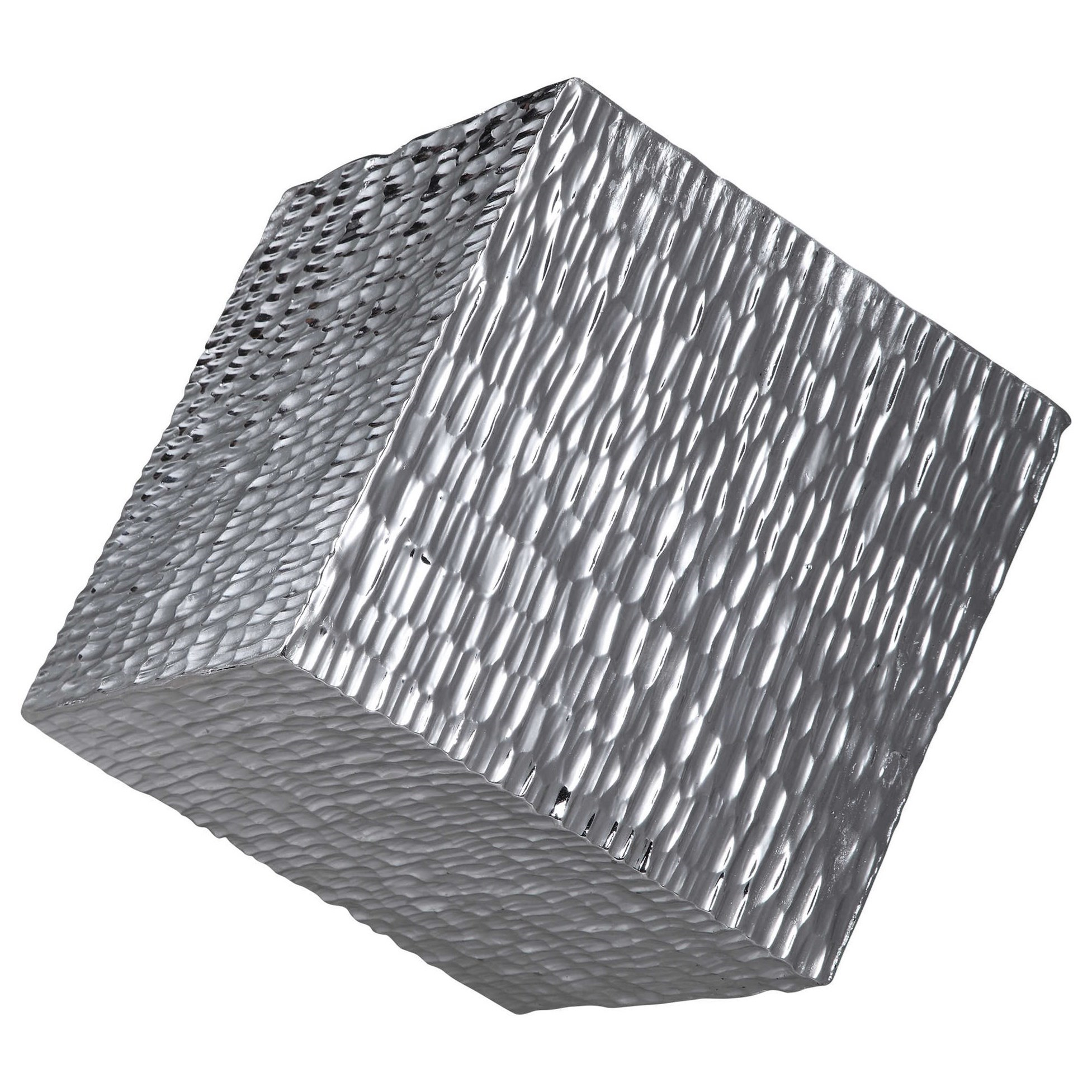 Alternative Wall Decor Jessamine Silver Wall Cube by Uttermost at Suburban Furniture