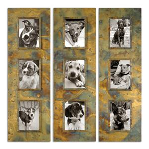 Uttermost Alternative Wall Decor Ambrosia Photo Collage, S/3