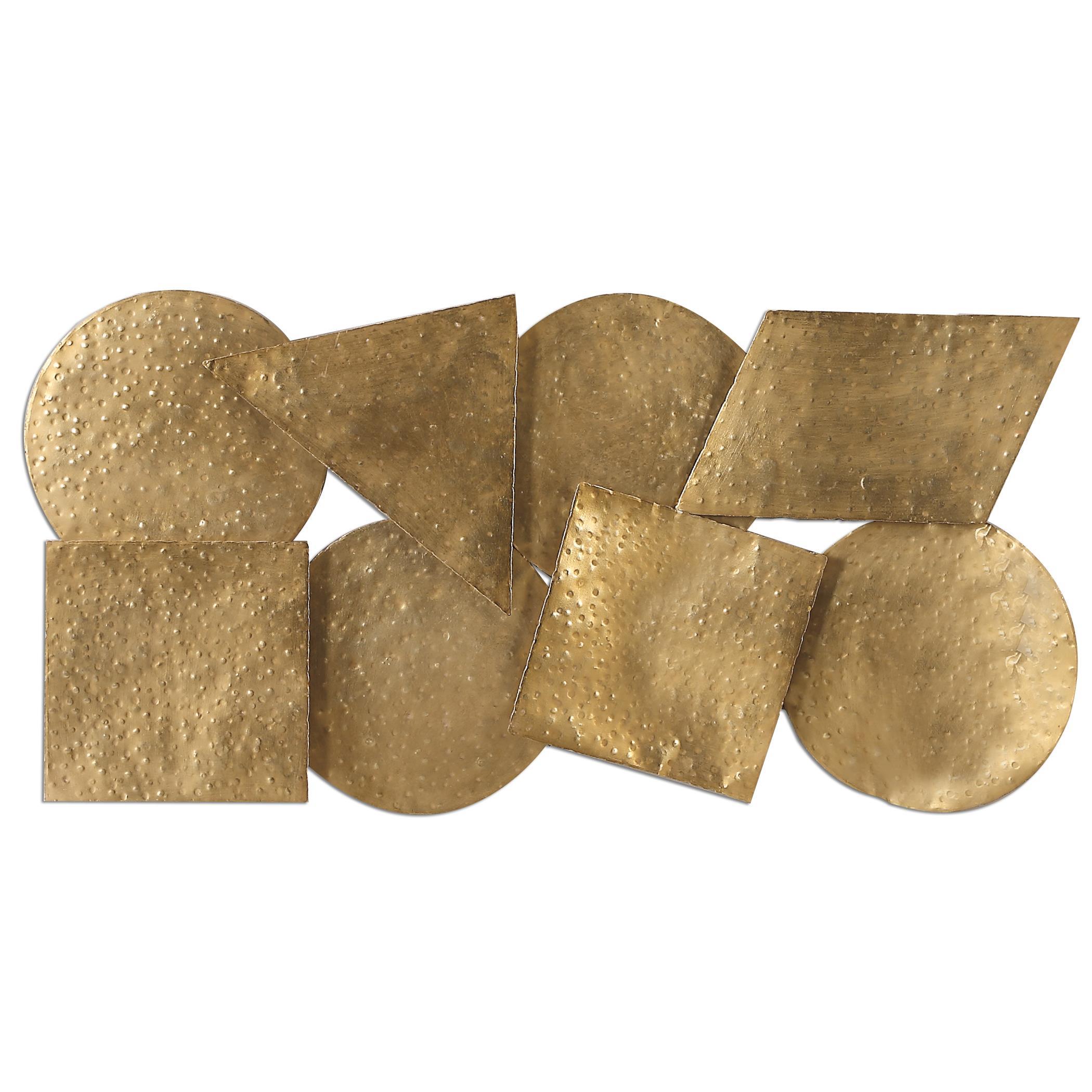 Uttermost Alternative Wall Decor Arrigo Gold Wall Art - Item Number: 07074