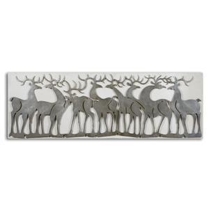 Uttermost Alternative Wall Decor Herd Of Deer Wall Art