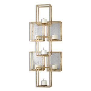 Alternative Wall Decor Ronana Mirrored Wall Sconce by Uttermost