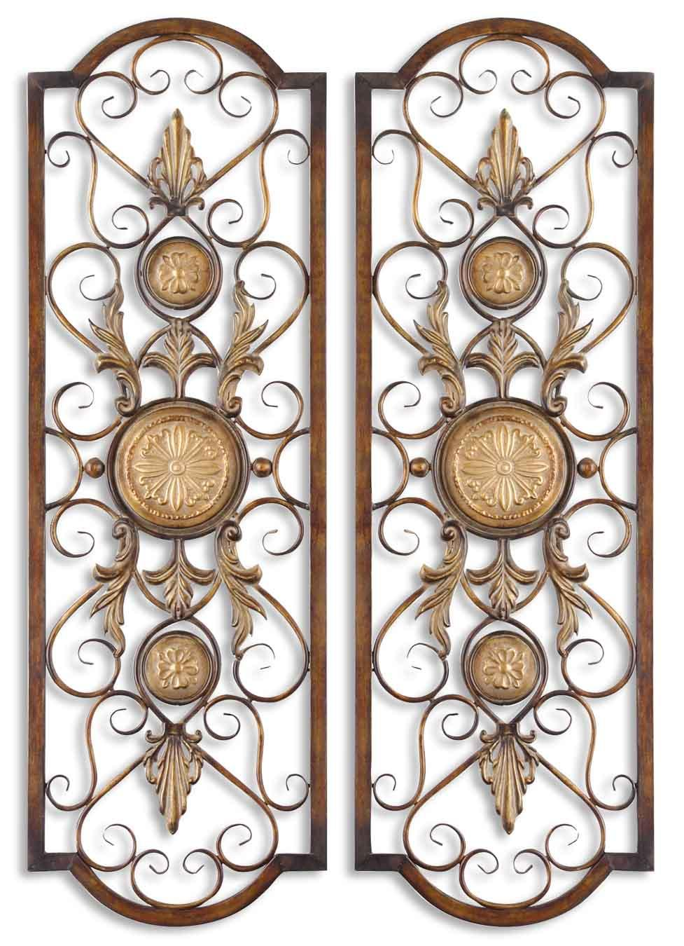 Uttermost Alternative Wall Decor Micayla Panels Set of 2 - Item Number: 13475