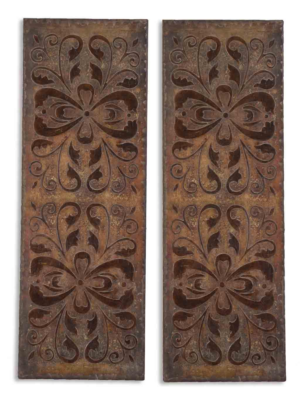 Uttermost Alternative Wall Decor Alexia Panels Set of 2 - Item Number: 13643