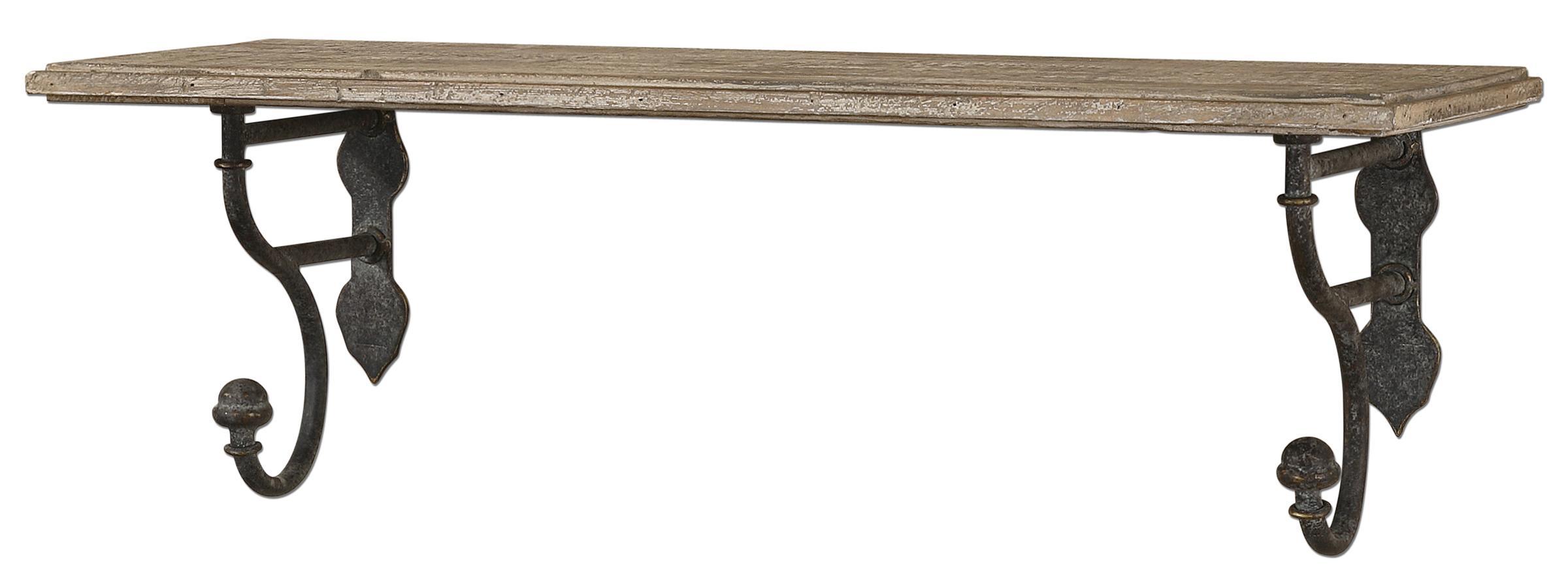 Uttermost Alternative Wall Decor Gualdo Shelf - Item Number: 13824