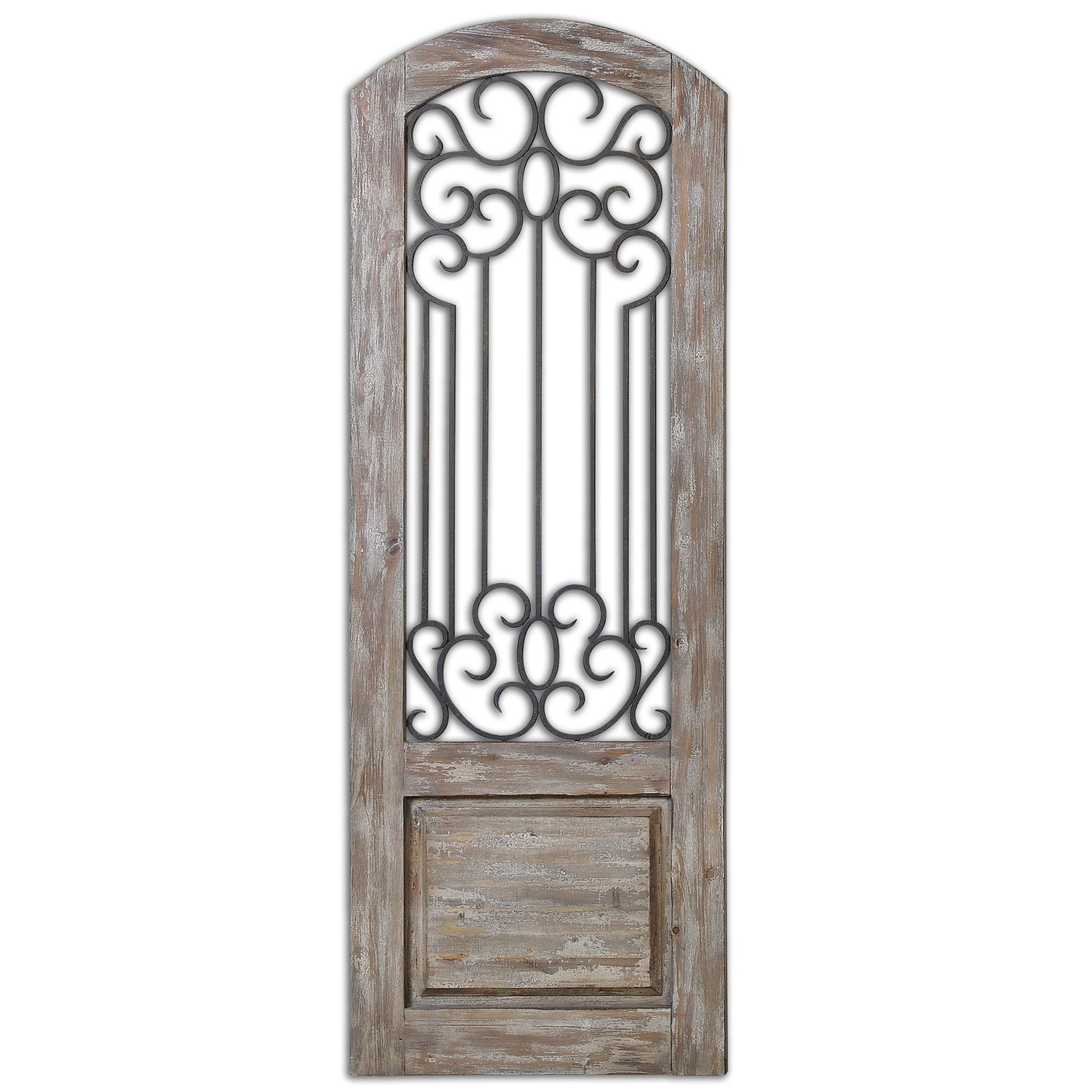 Uttermost Alternative Wall Decor Mulino Distresed Wall Panel - Item Number: 13861