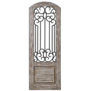 Uttermost Alternative Wall Decor Mulino Distresed Wall Panel