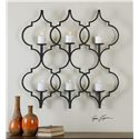 Uttermost Alternative Wall Decor Zakaria Metal Candle Wall Sconce
