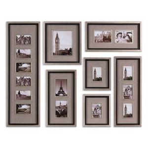 Uttermost Alternative Wall Decor Massena Photo Collage Set of 7