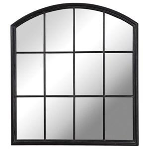 Lyda Aged Black Arch Mirror