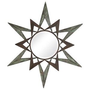 Amary Star Round Mirror