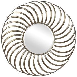 Romie Mid-Century Round Mirror